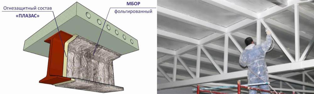 Проектирование огнезащиты металлических конструкций в Москве