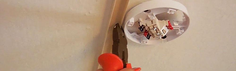 Установка пожарной сигнализации в многоквартирный дом