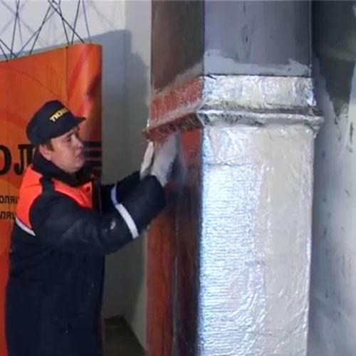 Огнезащита конструкций из металла в Москве