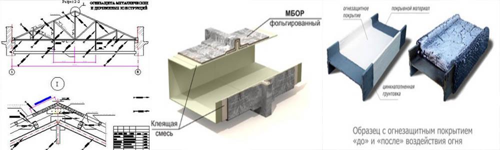 Заказать проектирование огнезащиты конструкций из металла