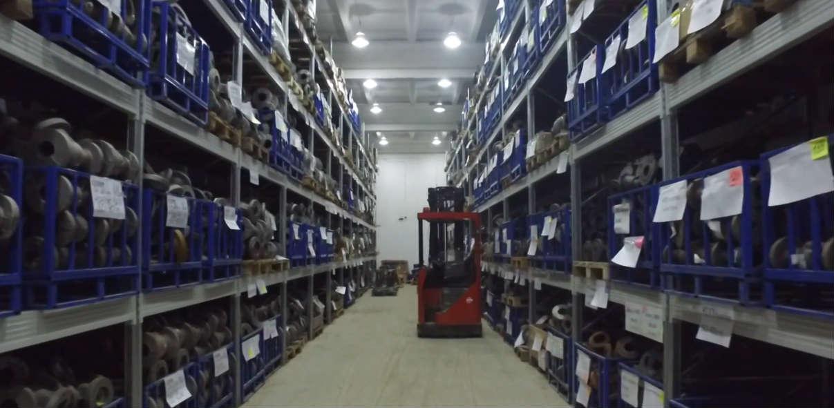 Категорирование складских помещений